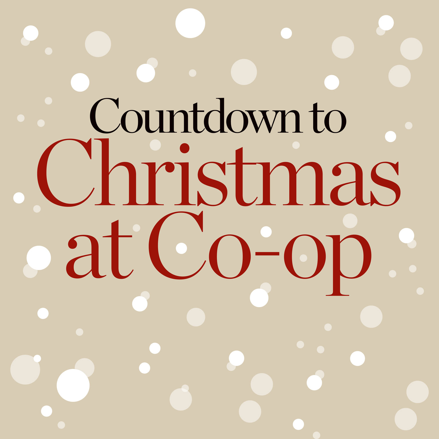 Christmas at Co-op